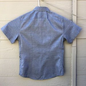 UNTUCKit Shirts - Untuckit Slim Fit 100% Cotton Short Sleeve Shirt